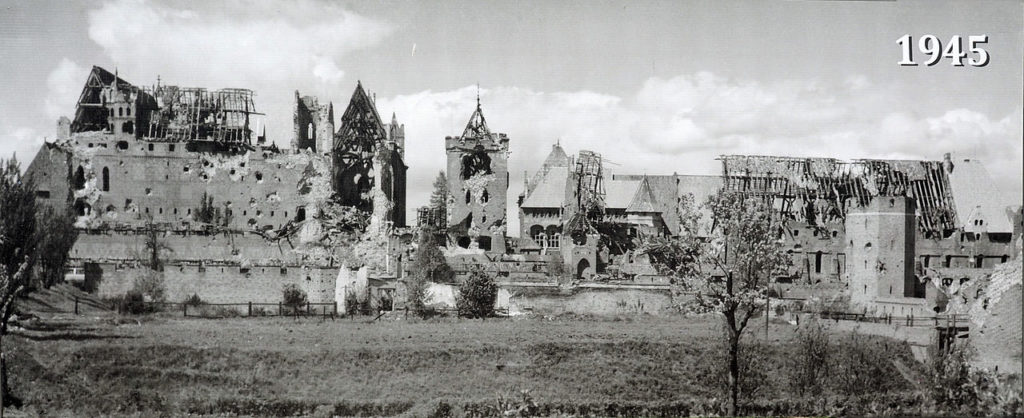 Мариенбург 1945