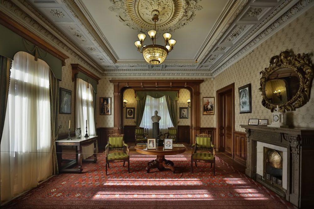 Массандровский дворец, кабинет Александра III