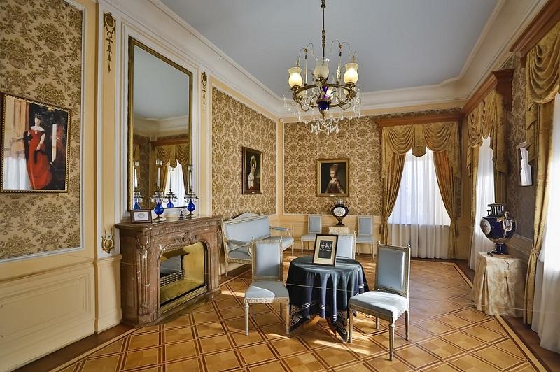 Массандровский дворец приемная императрицы