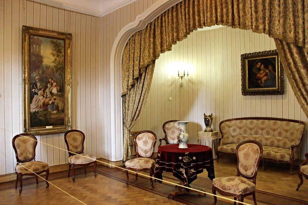 Массандровский дворец спальня