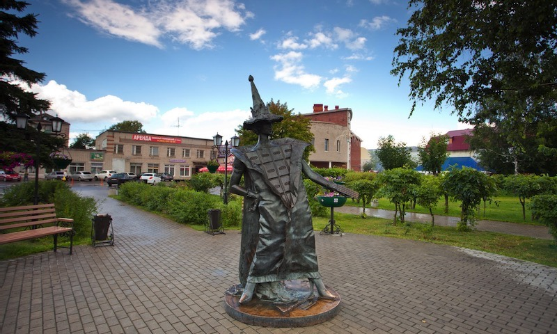 Памятник Шоколадной Фее