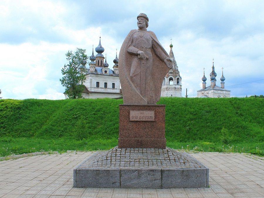 Памятник Юрию Долгорукому Юрьев-Польский