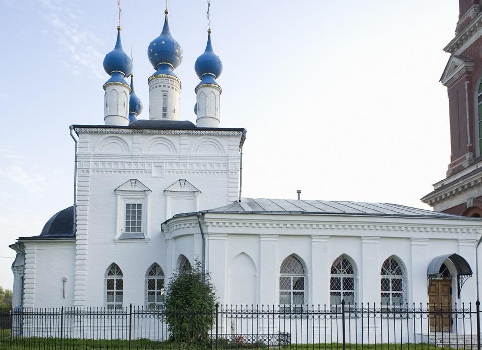 Покровская церковь Юрьев-Польский