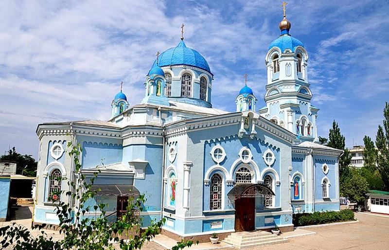 Свято-Ильинский храм Саки
