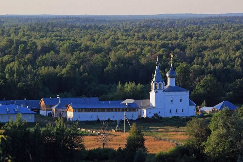 Знаменский монастырь Гороховец