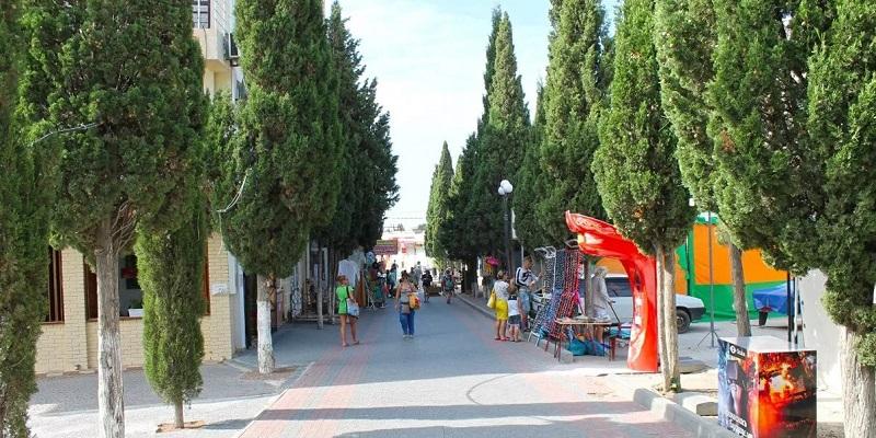 Кипарисовая аллея