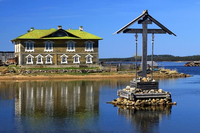 Поморский крест Соловки