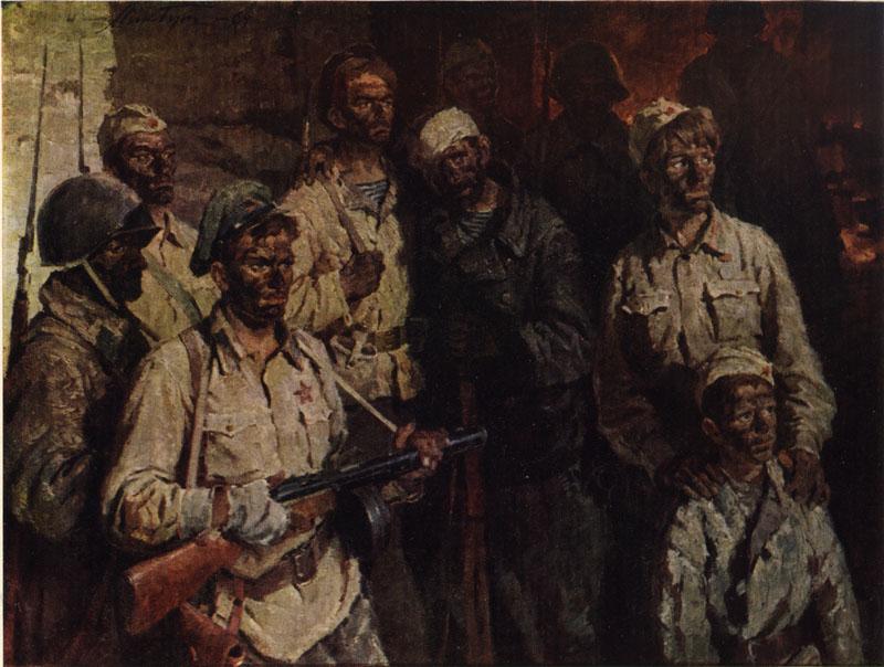 Солдаты подземного гарнизона, Бут