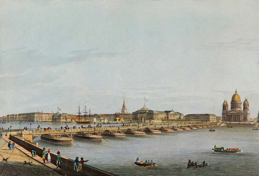 Исаакиевский наплавной мост