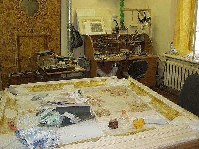 Янтарная комната мастерская