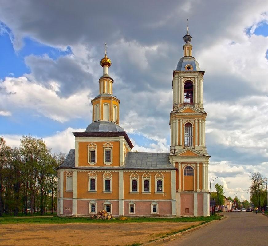 Казанская церковь Углич