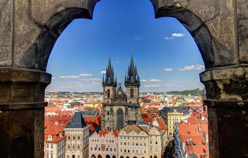 Прага Старый город