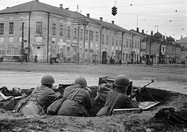 Улица Тулы 1941 г