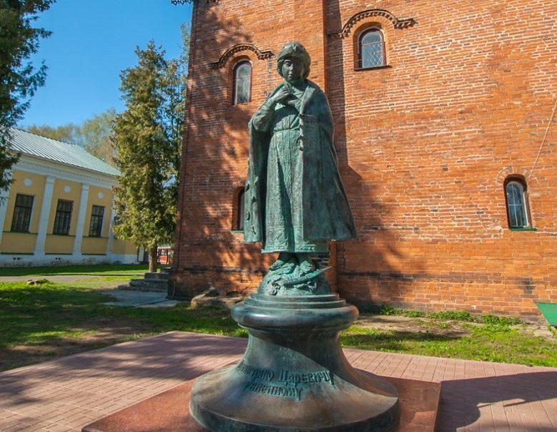 Памятник Царевичу Дмитрию Углич
