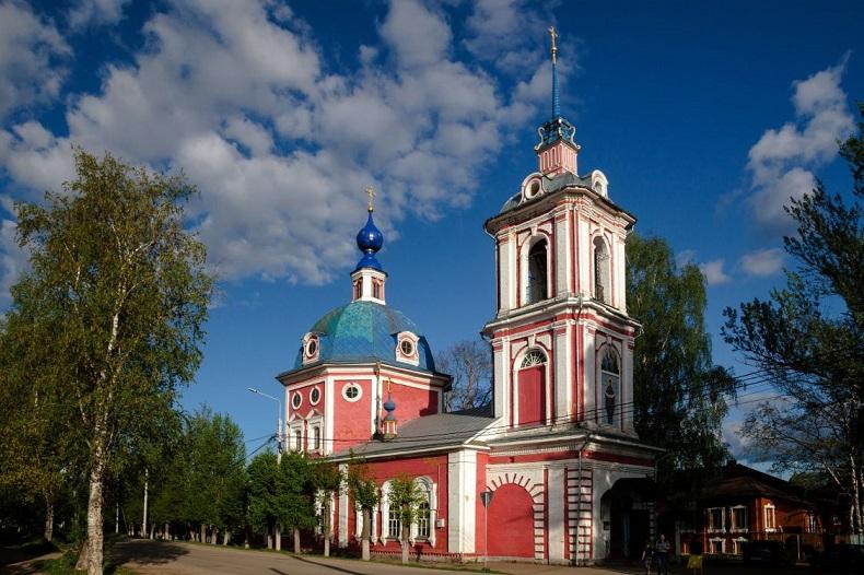 Покровская церковь Переславль-Залесский
