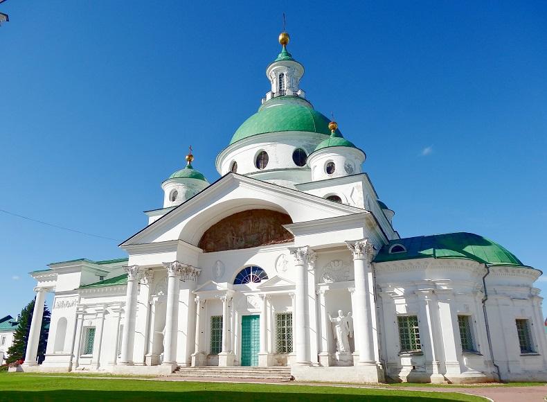 Спасо-яковлевский монастырь Ростов