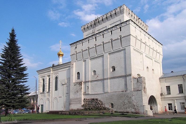 Власьевская башня Ярославль
