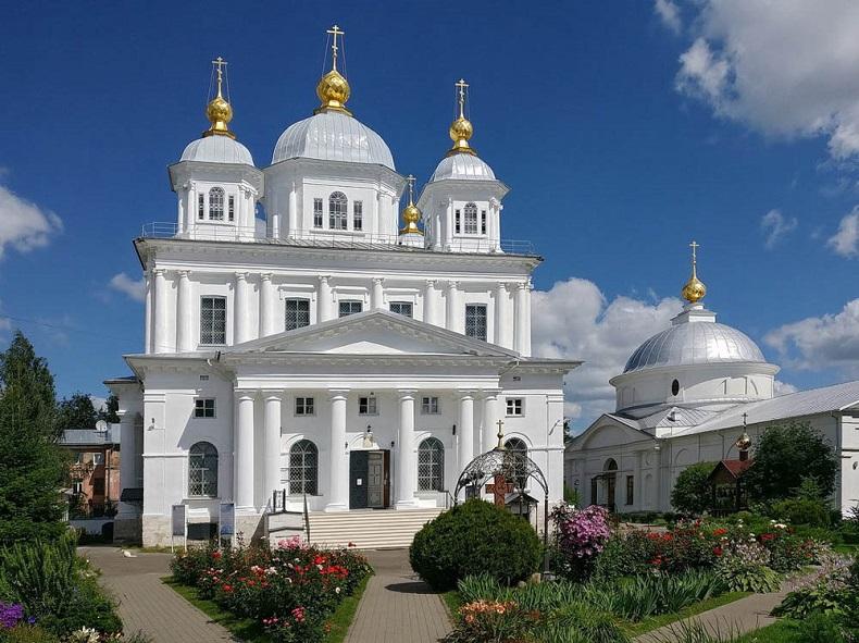Казанский монастырь Ярославль