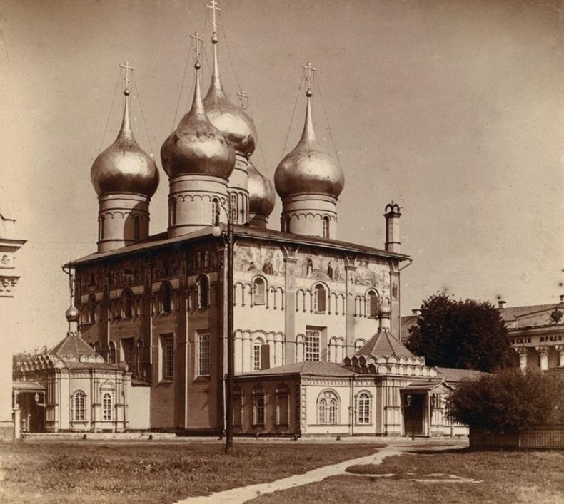 Старый Успенский собор Ярославль