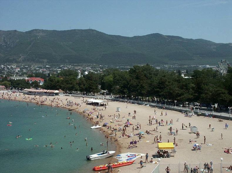 Геленджик пляж