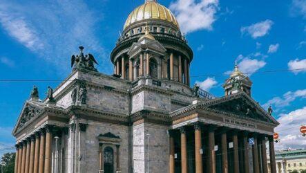 Исаакиевский собор открывается для посетителей 19 июля
