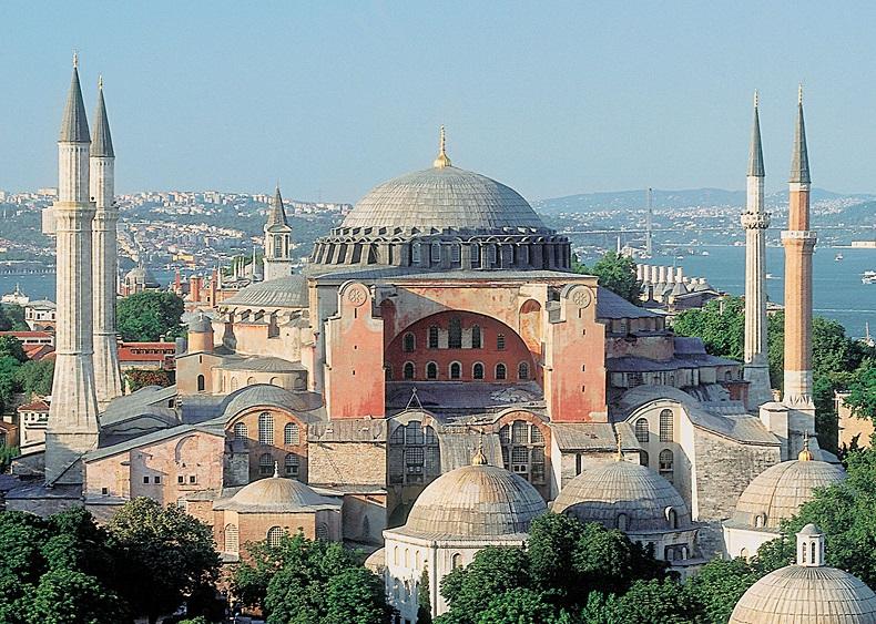 Мечеть Айя-София открылась