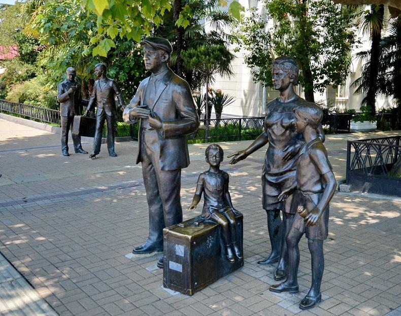 Памятник Бриллиантовая рука
