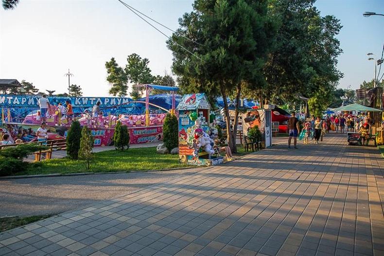 Парк 30-летия Победы Анапа