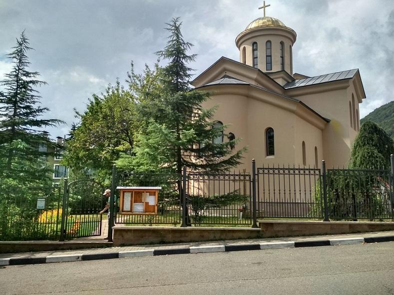 Церковь Св. Харлампия Красная поляна
