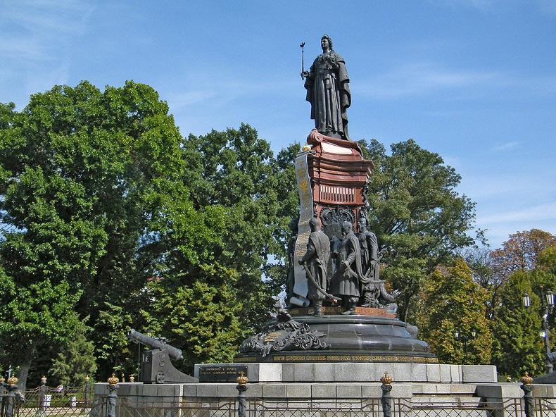 Памятнике Екатерине II Краснодар