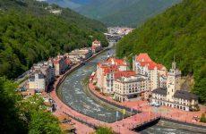 Достопримечательности Красной Поляны: горнолыжные курорты