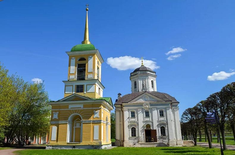 Церковь Спаса Всемилостивого Кусково