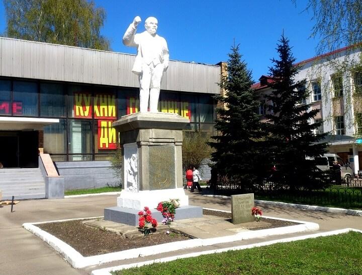 Памятник Ленину Ногинск