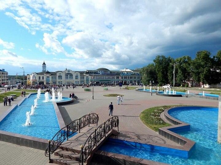 Площадь фонтанов Ногинск