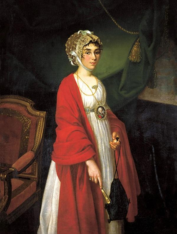 Портрет Прасковьи Жемчуговой