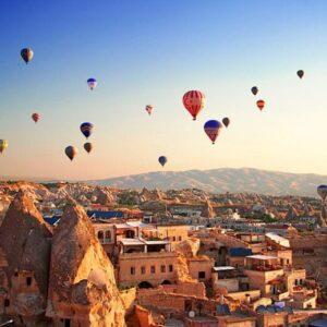 Каппадокия: полет на шаре и достопримечательности