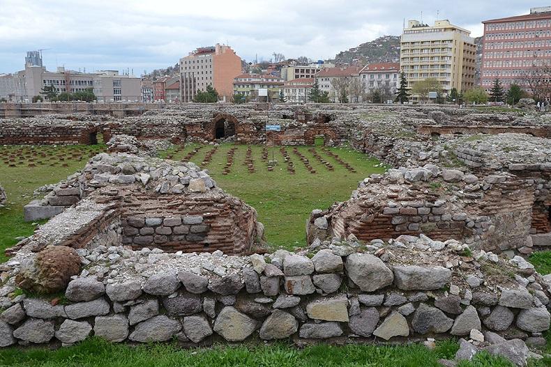 Римские термы Анкара