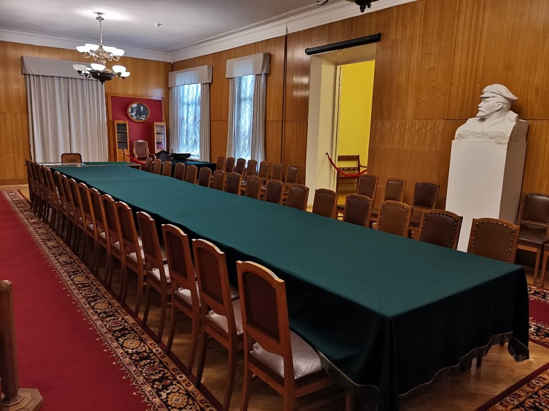 Зал заседаний Совнаркома Горки