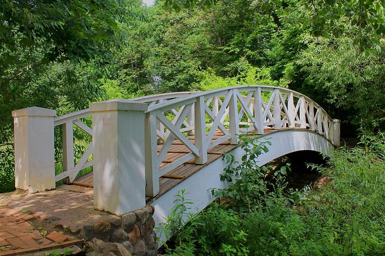 Горбатый мостик Остафьево