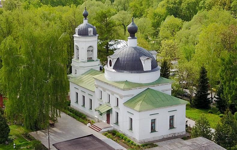 Храм Святой Троицы Остафьево