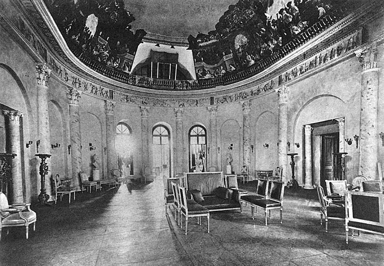 Овальный зал Остафьево