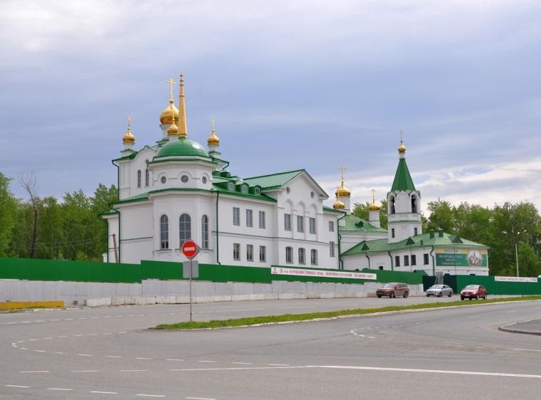 Успенская церковь Березовский