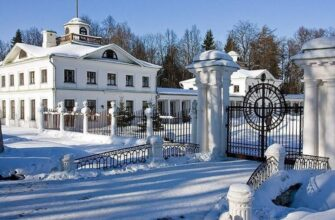 Самые красивые места Подмосковья для зимних прогулок