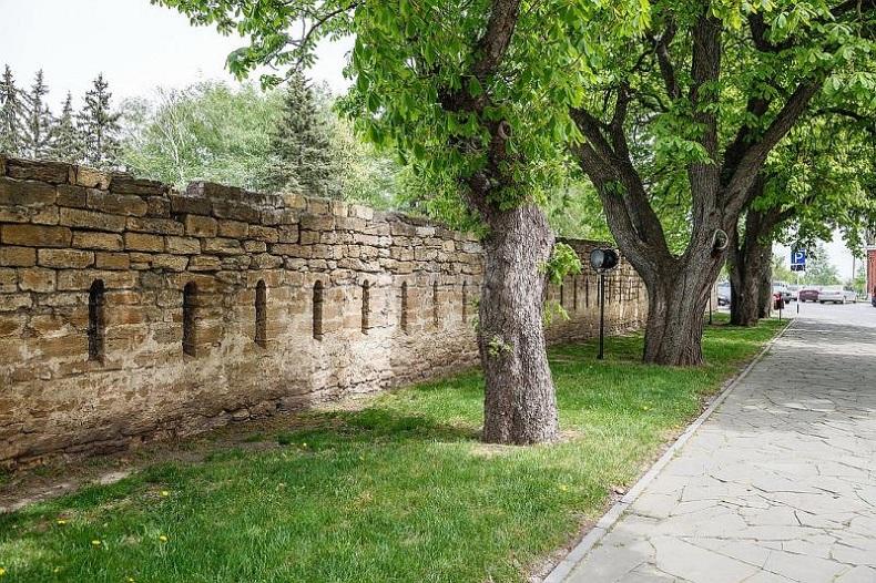 Крепостная стена Ставрополь