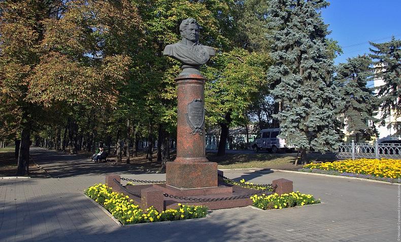 Памятник Ермолову Ставрополь