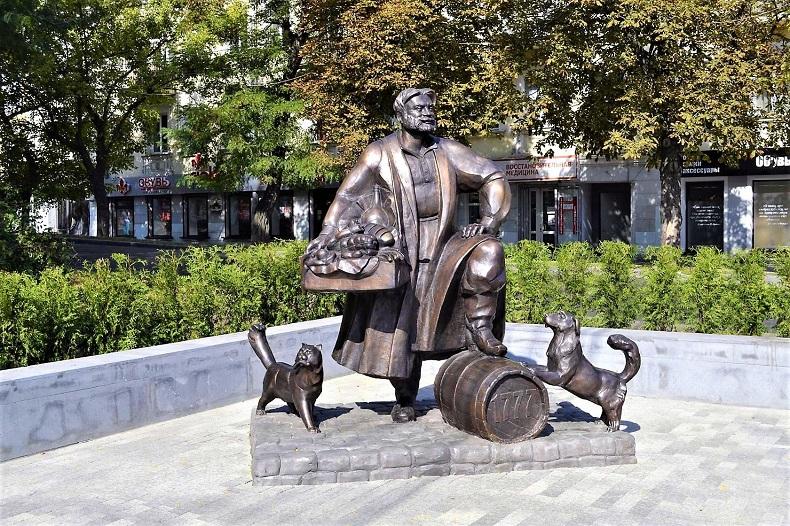 Памятник Купец Ставрополь