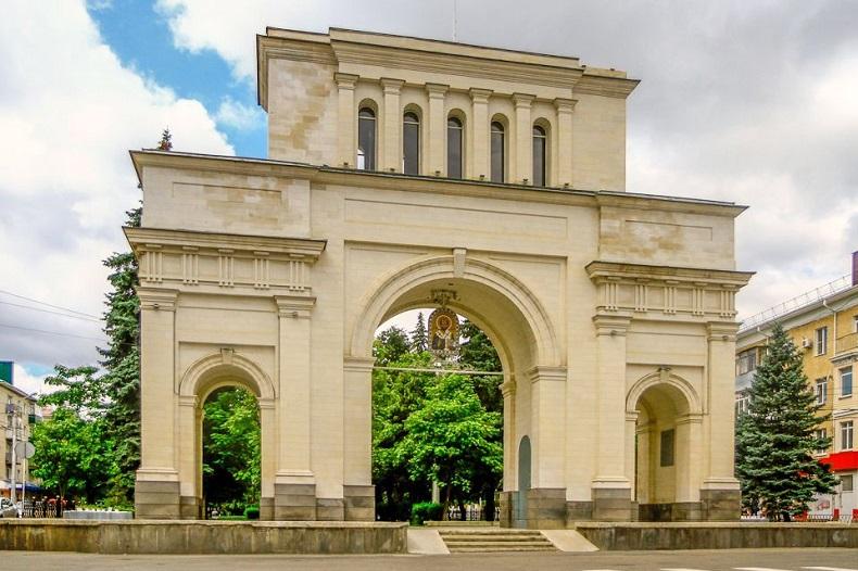 Тифлисские ворота Ставрополь