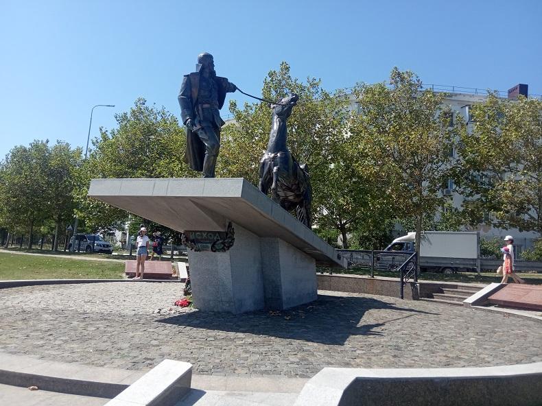 Памятник Исход Новороссийск
