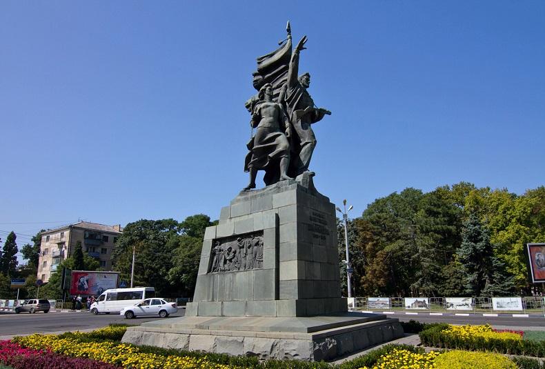 Памятник освободителям Новороссийска
