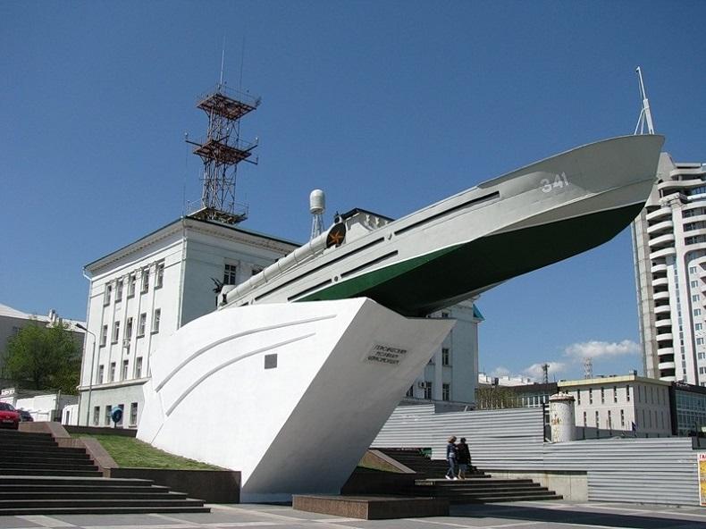 Памятник Торпедный катер Новороссийск